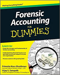 Forensic Accounting for Dummies book