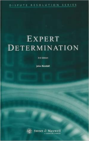 Sweet & Maxwell Expert Determination text book